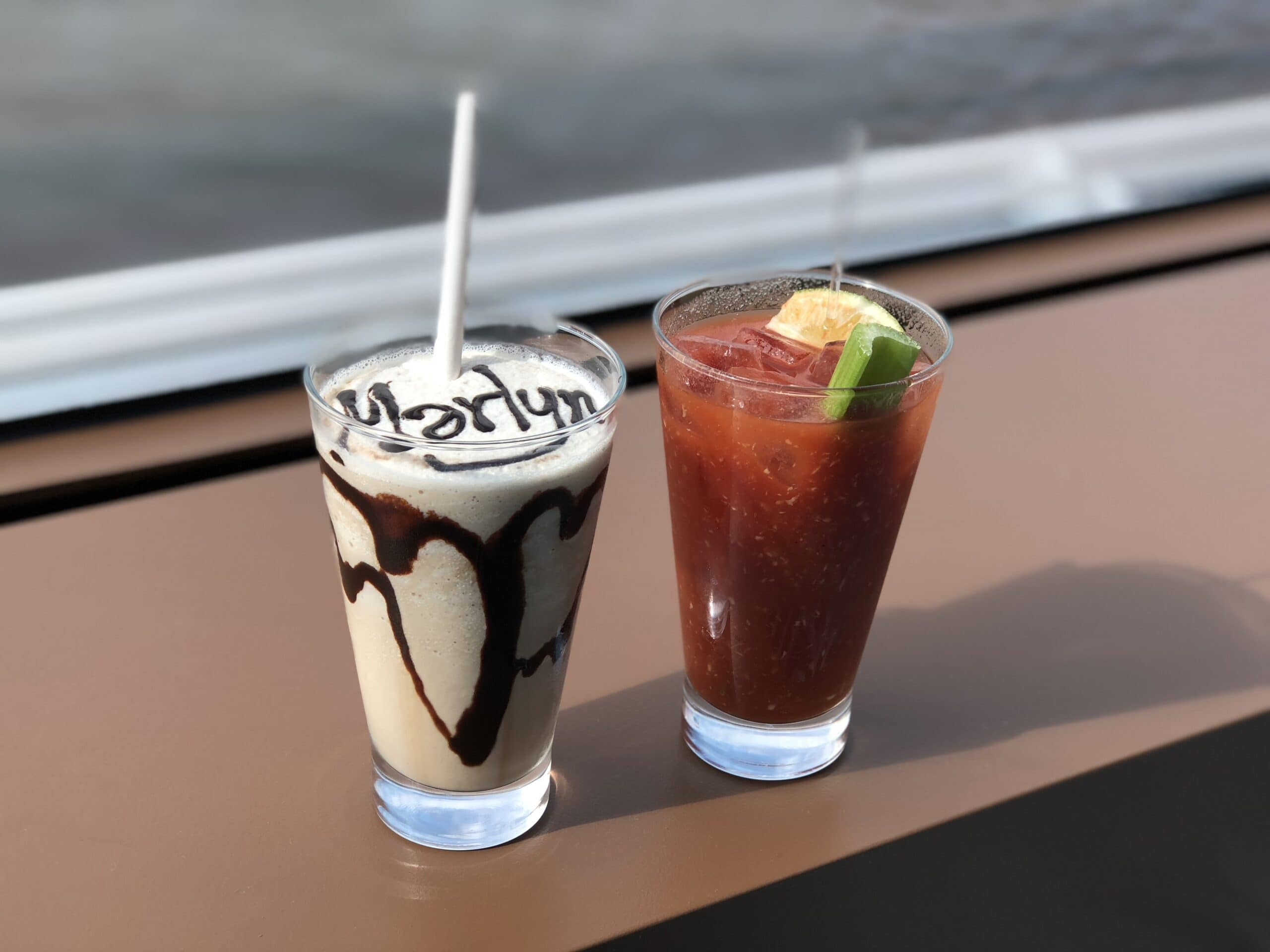 mudslide and bloody mary