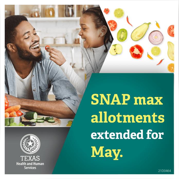 May SNAP benefits