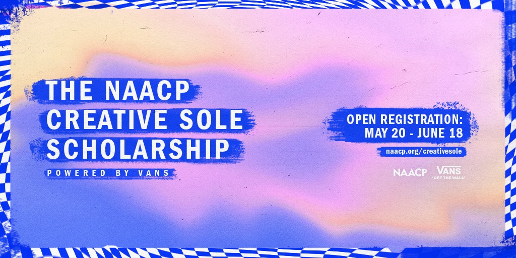 NAACp sole scholarship poster