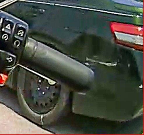 damaged sedan