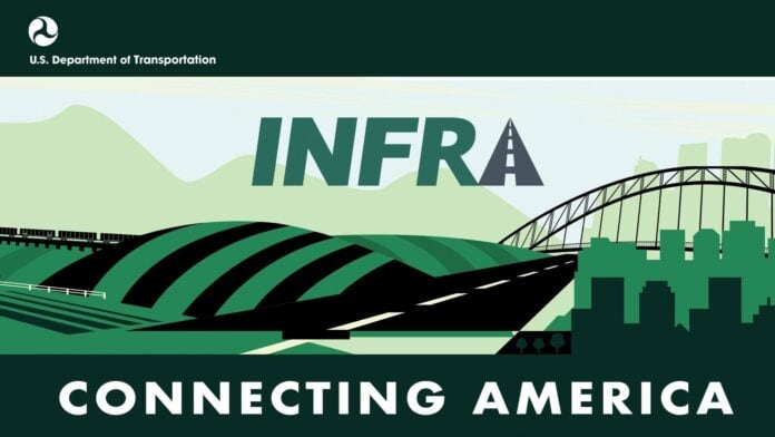 INFRA connecting America poster
