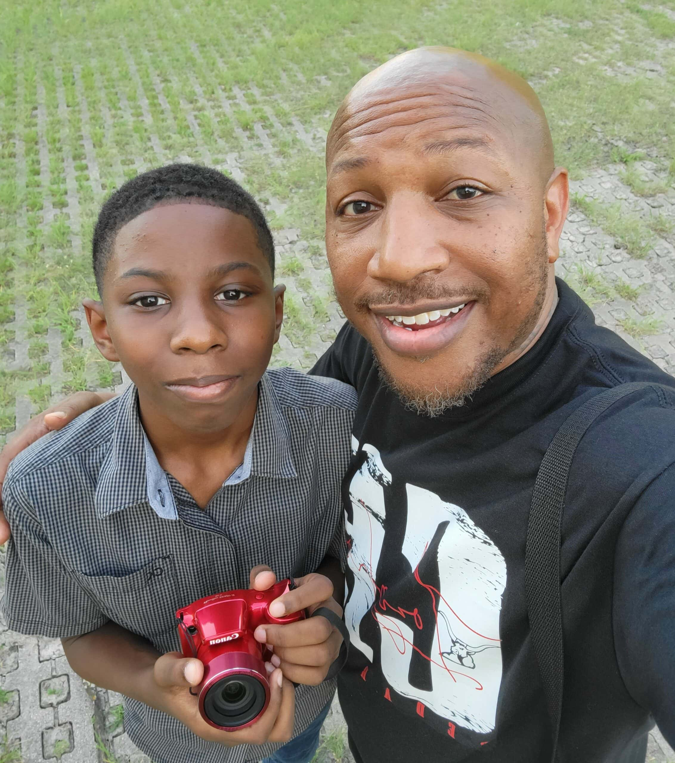Myles and his Dad