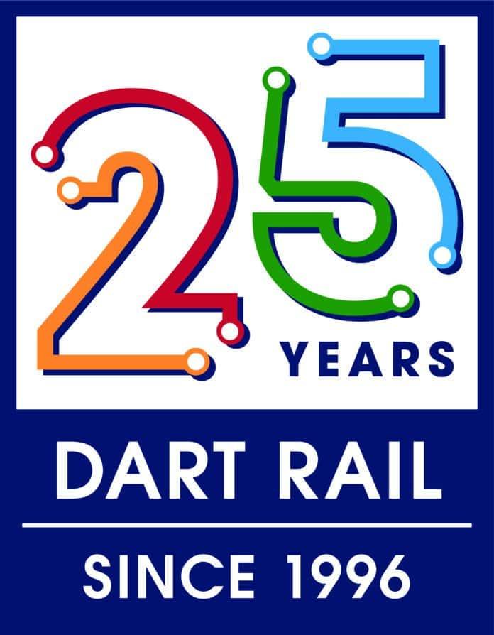 Dart 25 anniversary logo