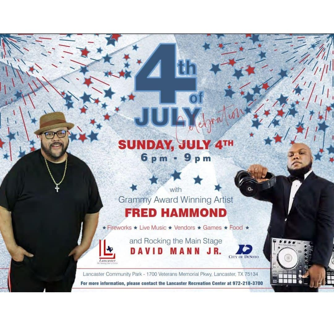 DeSoto 4th of July poster