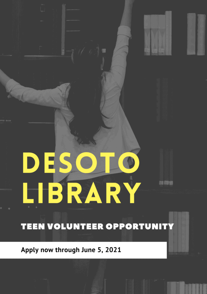 DeSoto library poster