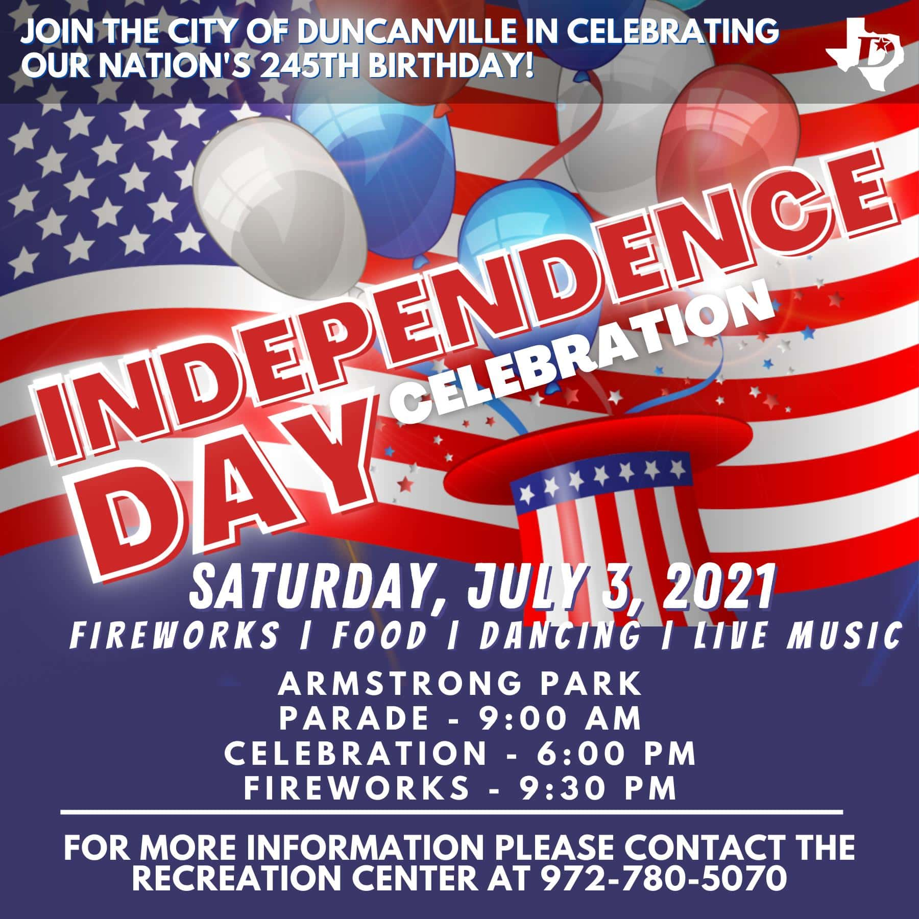 Duncanville Independence Day Parade