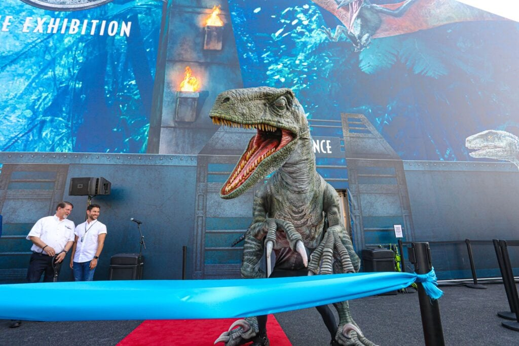 Jurassic World: the Exhibition opens