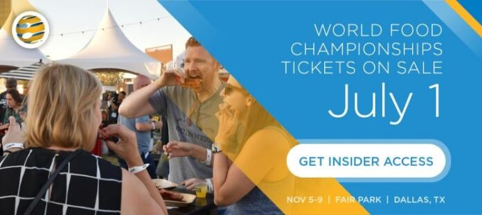 World food Championship poster