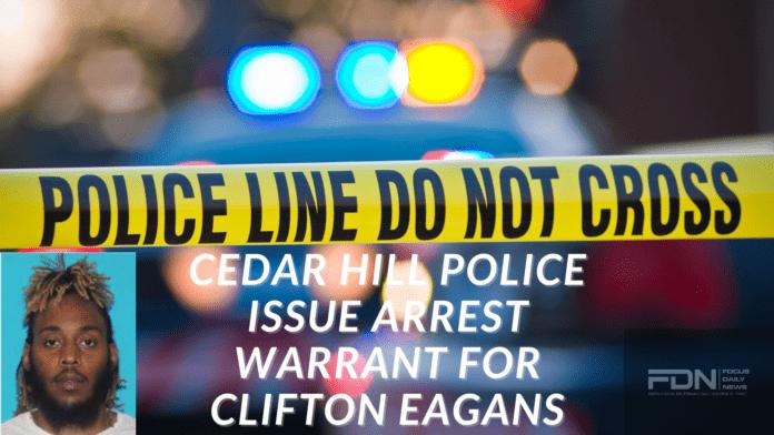 Cedar Hill police poster