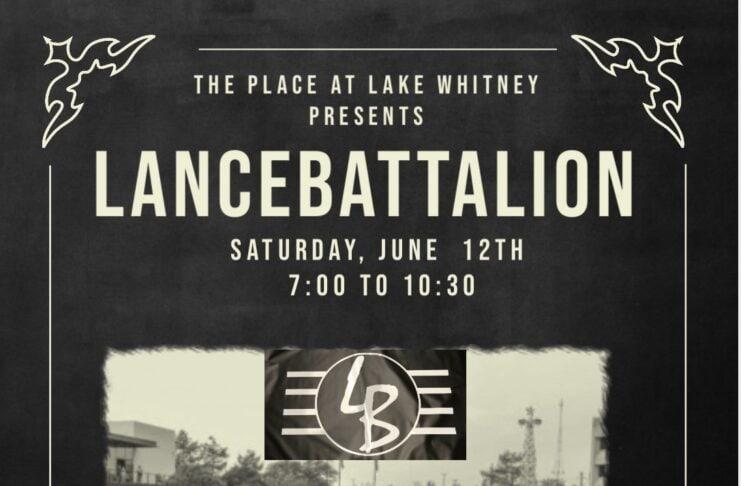 Lance battalion band poster