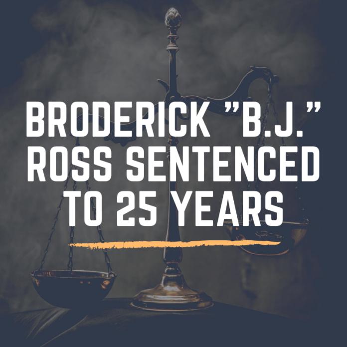 Broderick BJ Ross text