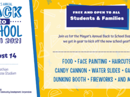 Manna House back to school poster