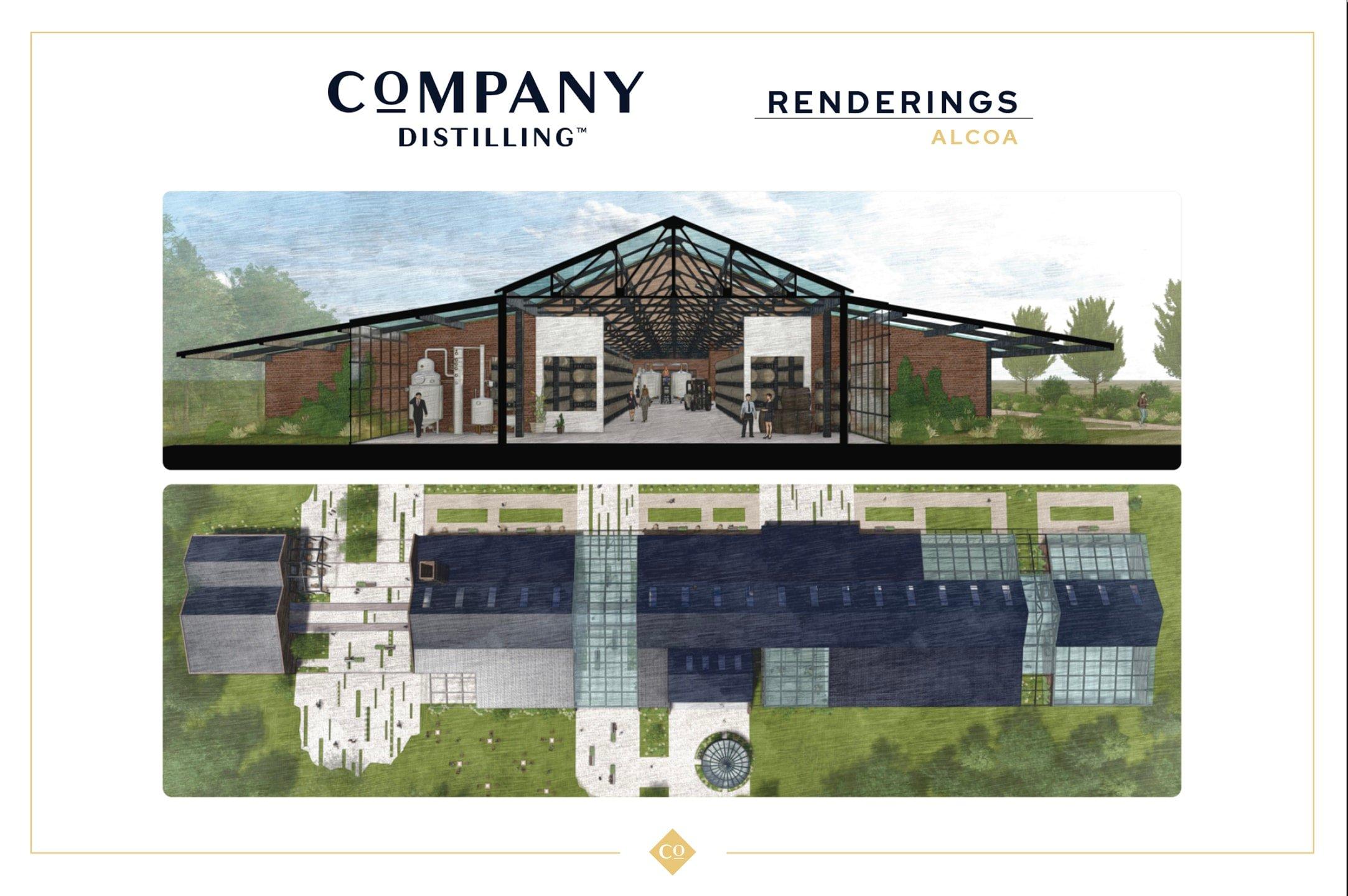 Company Distilling Rendering