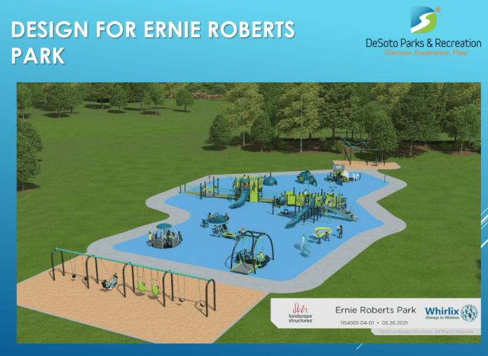 Ernie Roberts park rendering