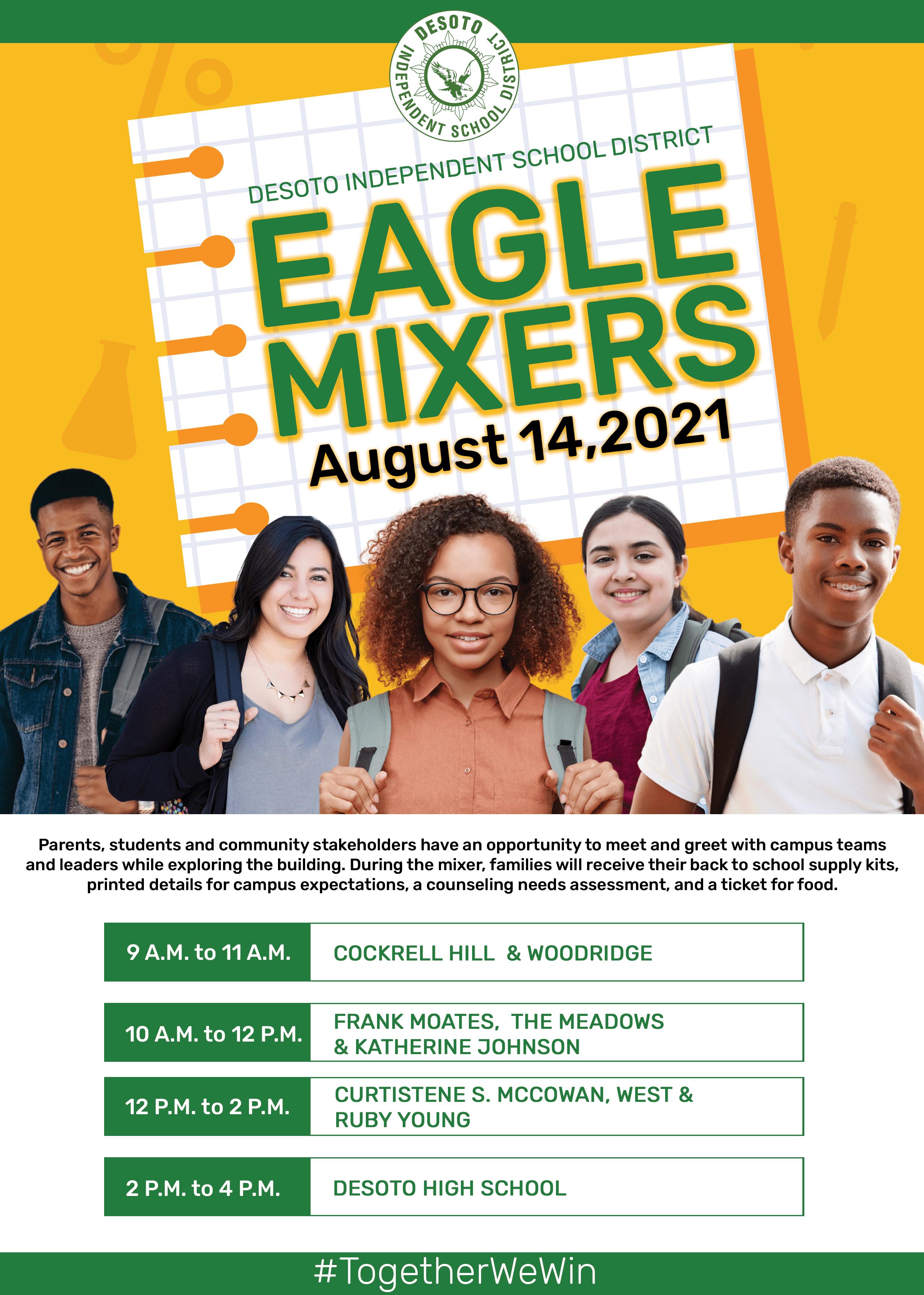 DeSoto eagle Mixer poster