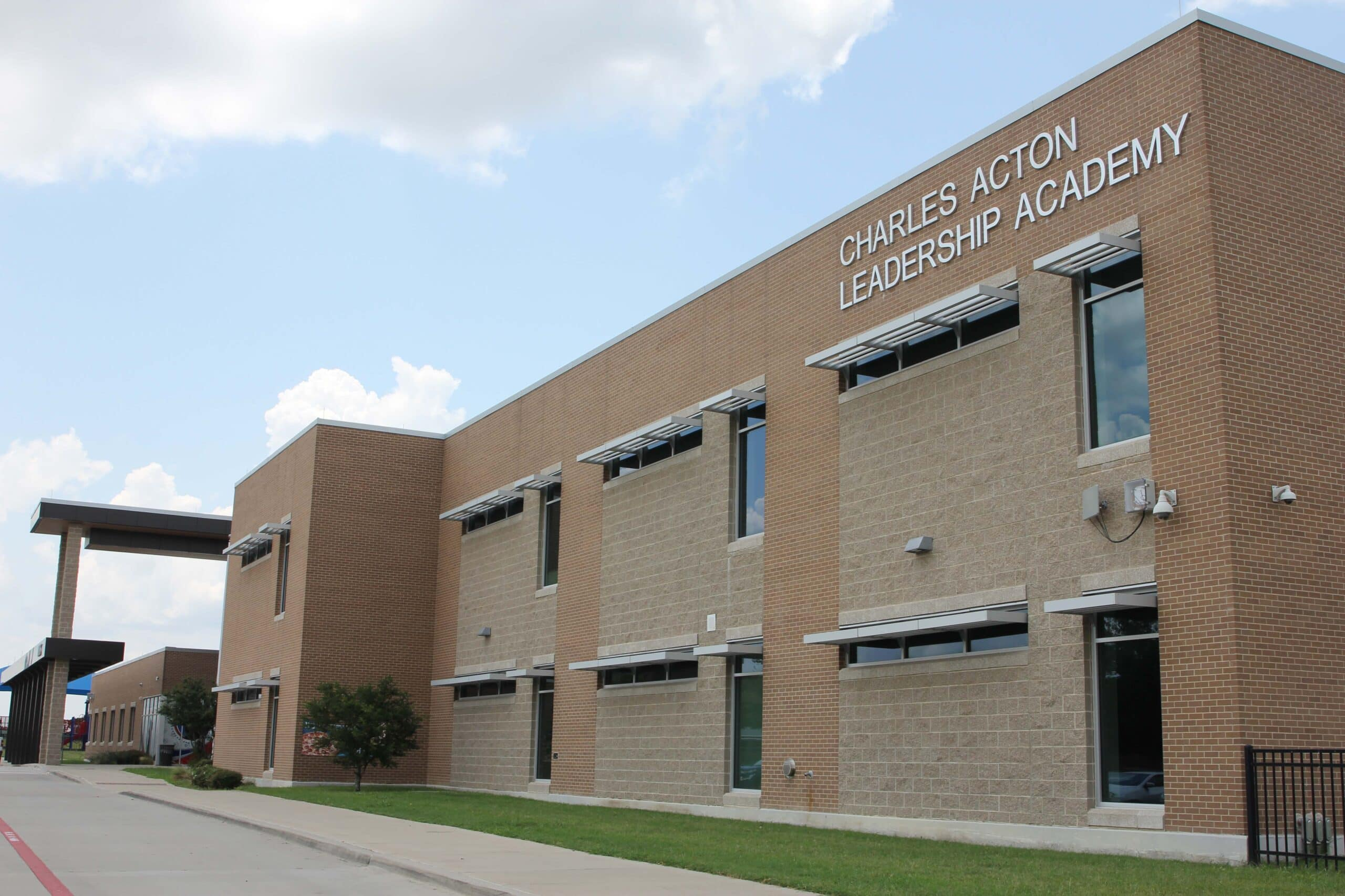 exterior of Charles Acton leadership academy
