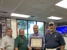 Jimmy Mokres with Community Builder award