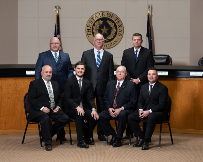 Midlothian City Council group photo