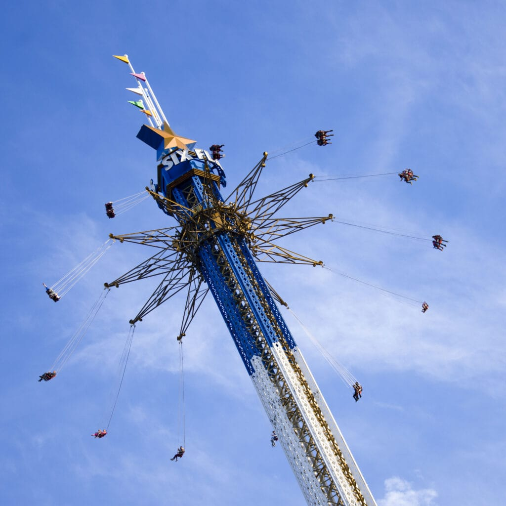 Six Flags Over Texas celebra su 60 aniversario