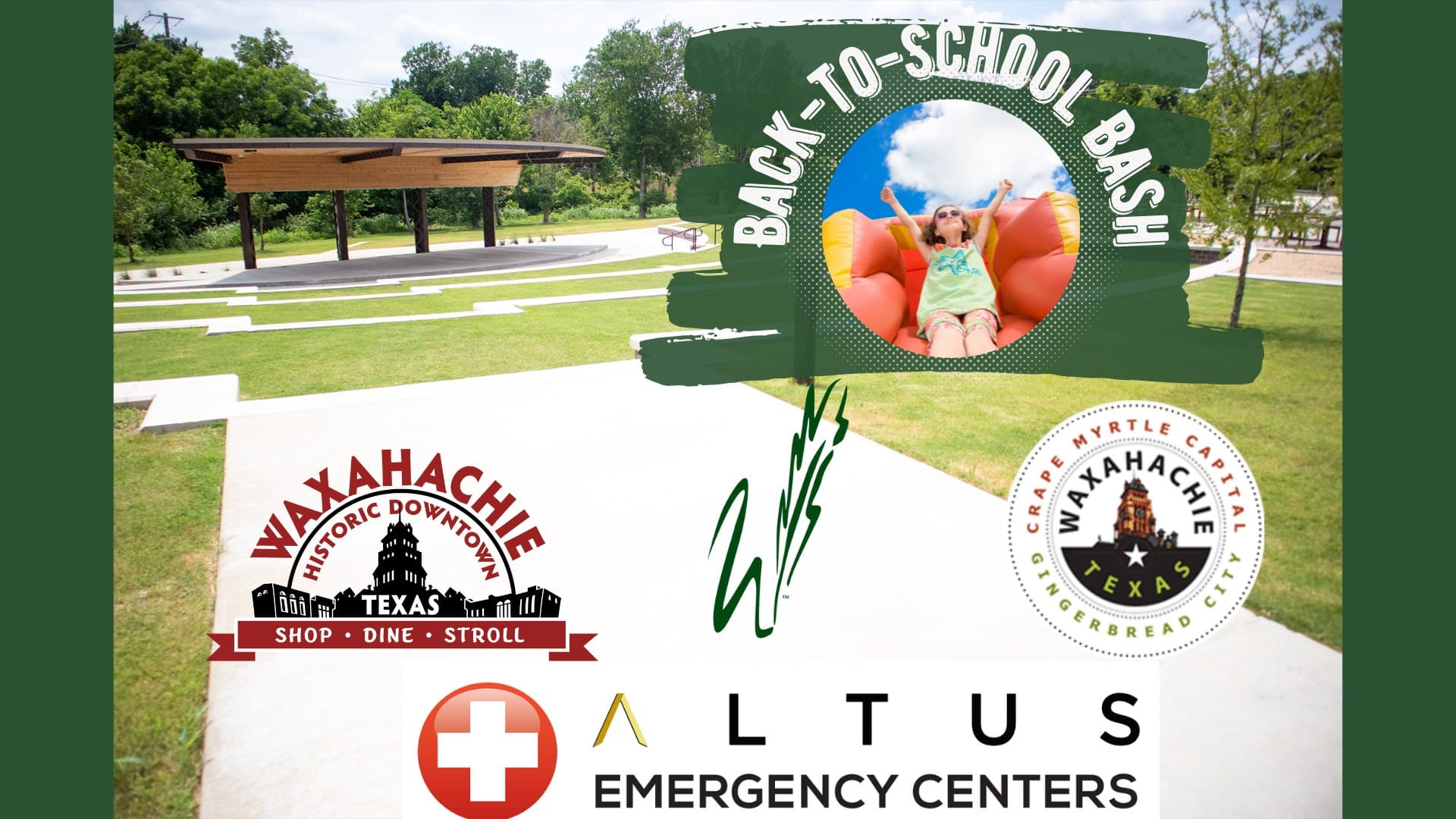 Waxahachie back to school poster