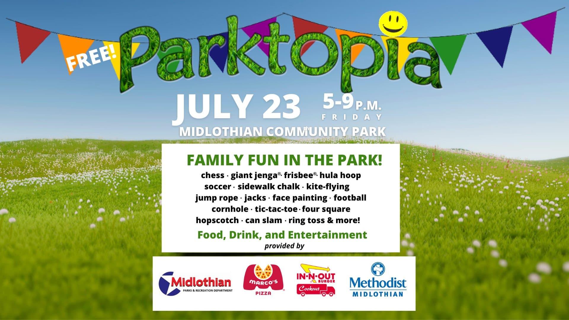 Parktopia poster
