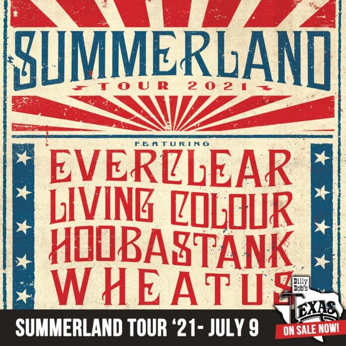 Summerland tour poster