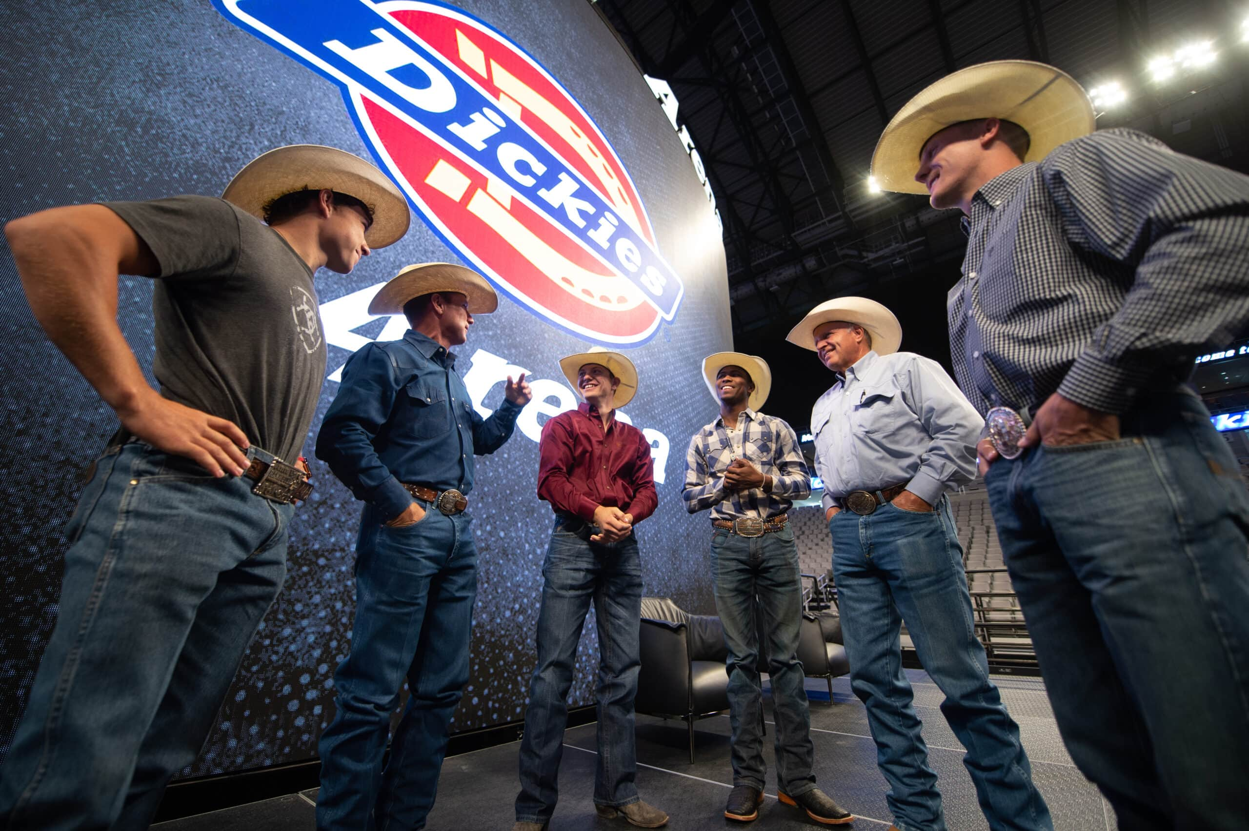 Bull Riders during PBR World Finals