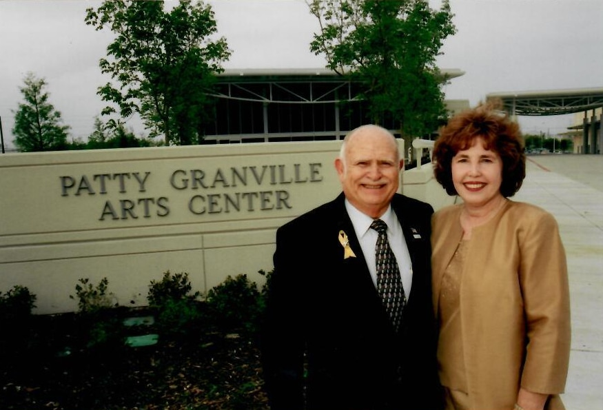 Patty Granville receives Obelisk