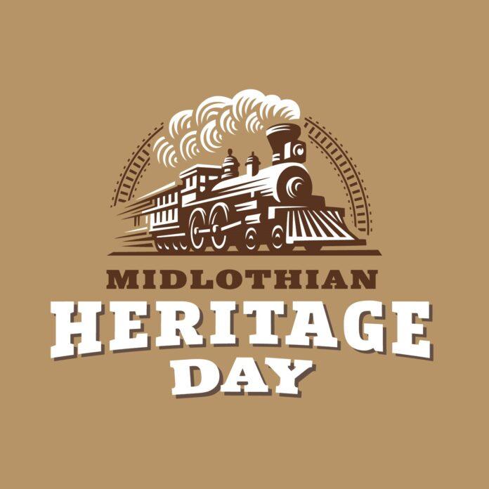 Midlothian Heritage Day logo