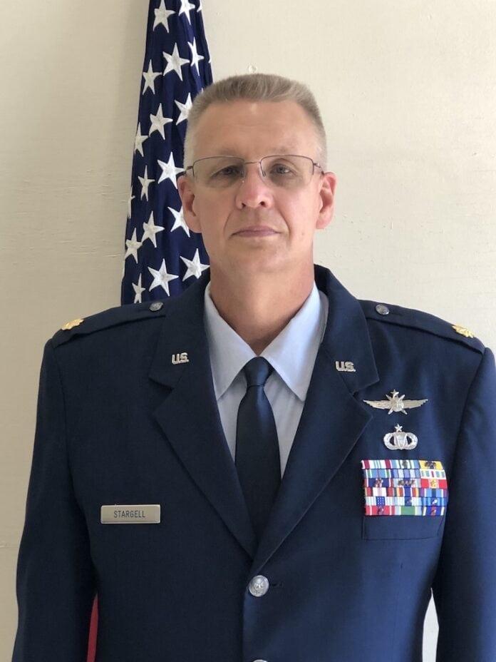 Major Stargell in uniform