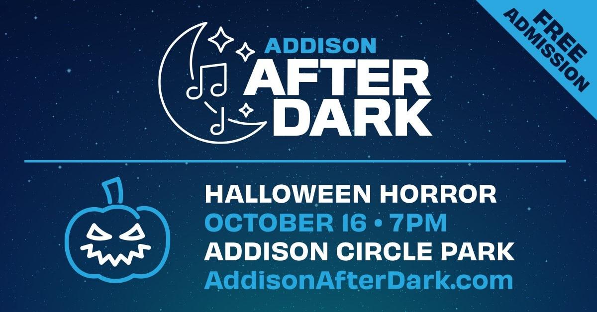 Addison after dark flyer
