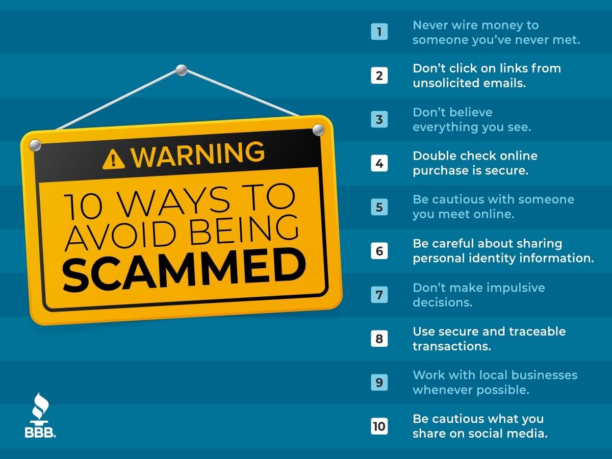 BBB scam flyer