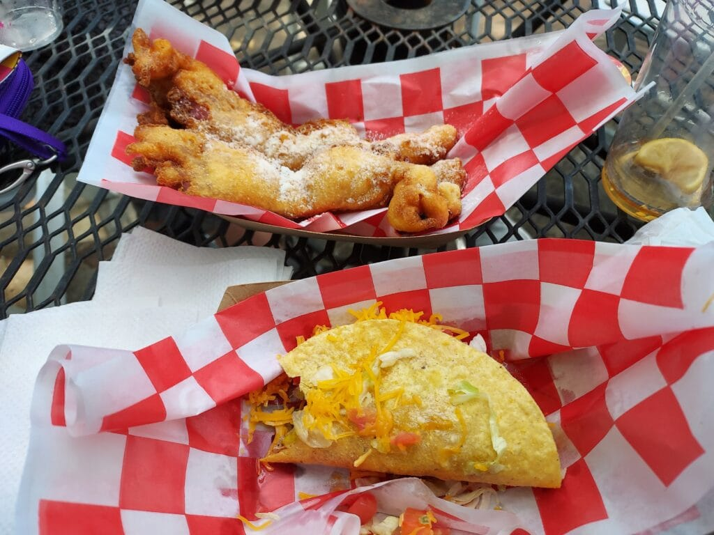 fried food from State Fair of Texas