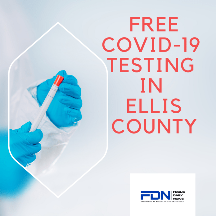 Ellis county COVID Test
