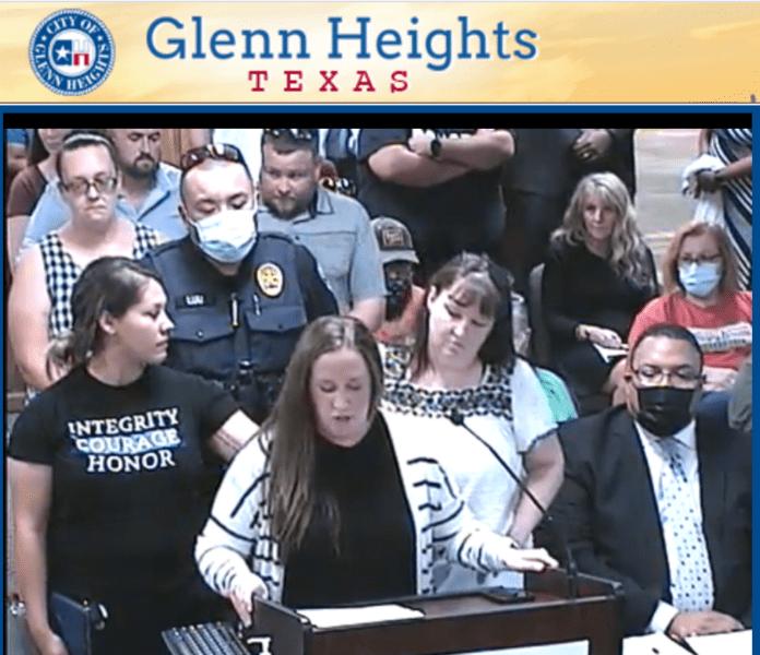 Glenn Heights Council screnshot