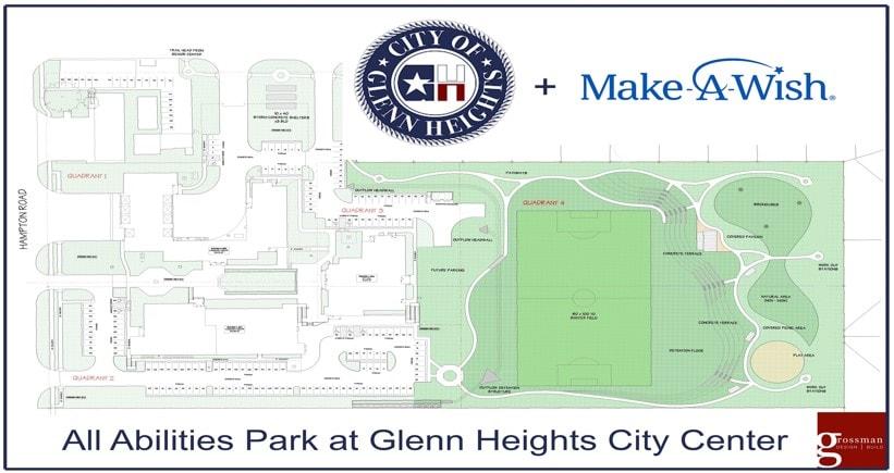 Glenn Heights park map