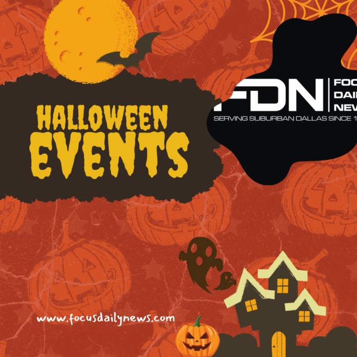Halloween events poster