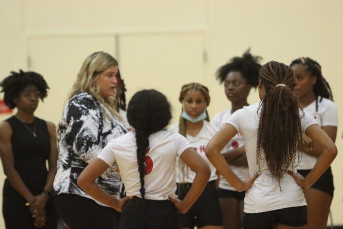 Cedar Hill volleyball team