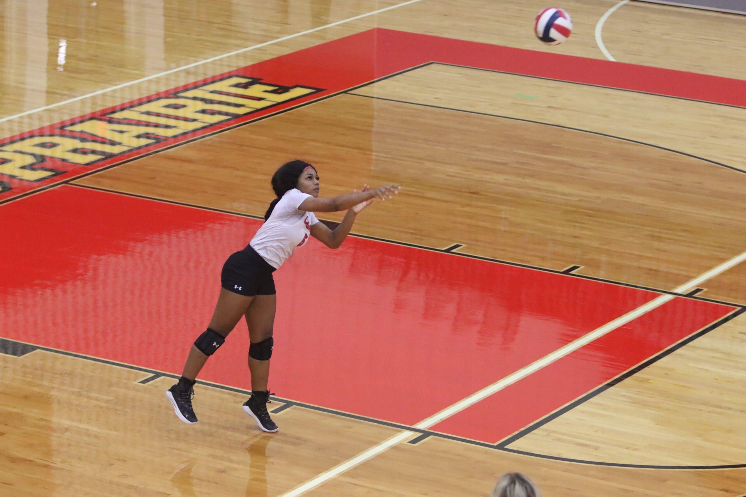 Cedar hill volleyball player