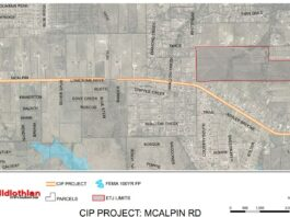 Mcalpin road improvement map