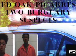 Red Oak PD graphic