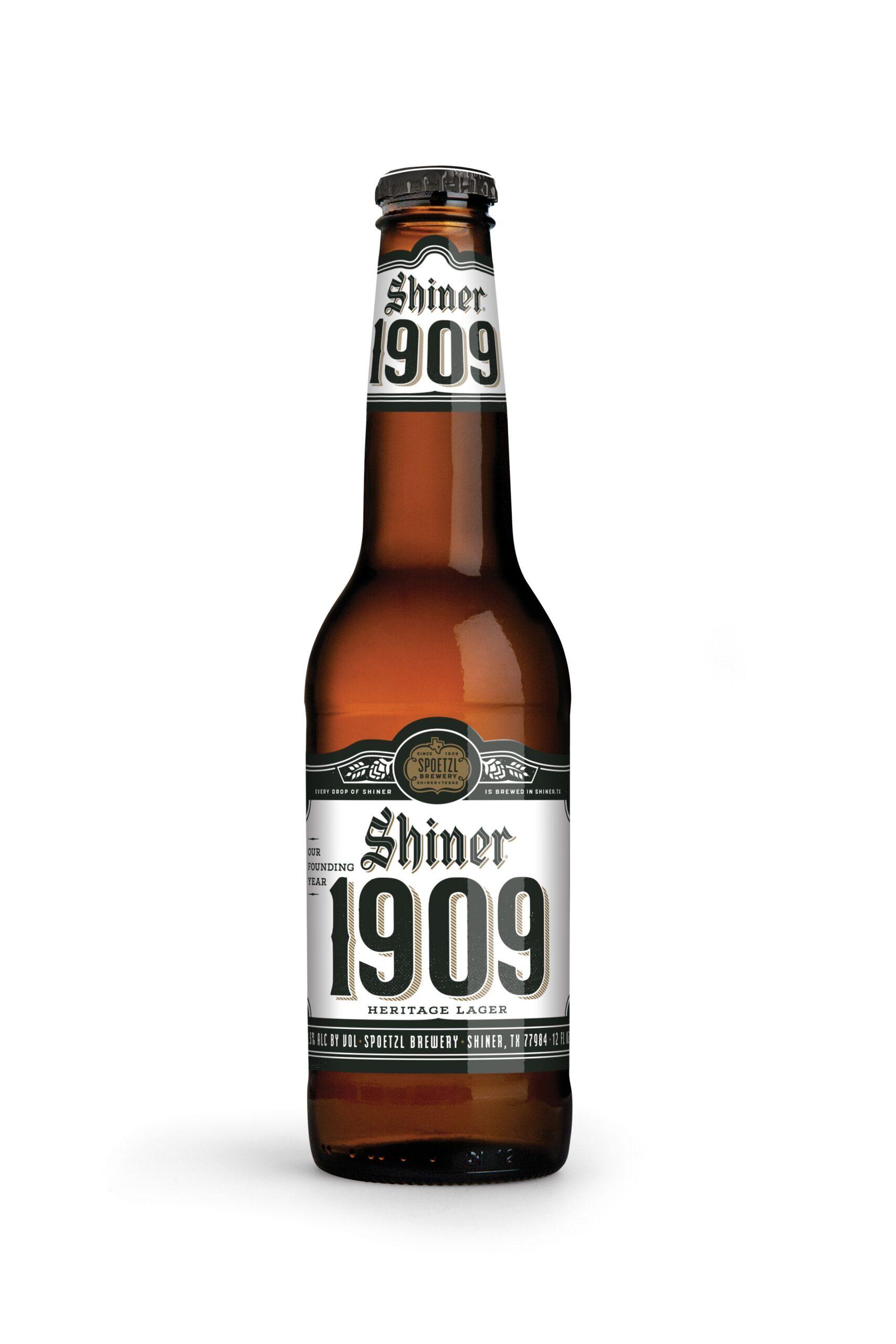 Shiner 1909 bottle