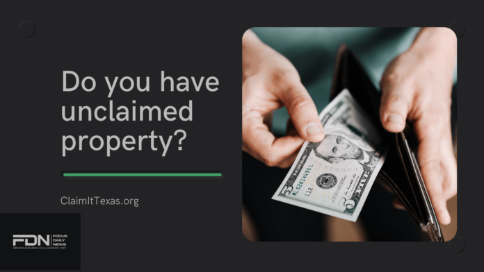 Unclaimed property flyer