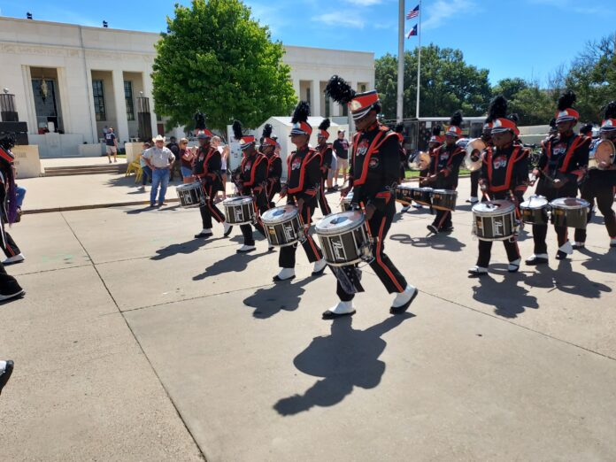 Lancaster HS marching band