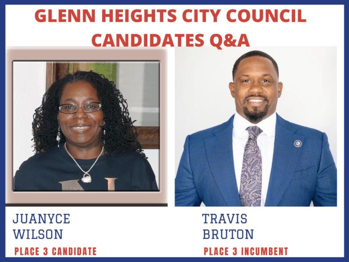 Glenn Heights election flyer