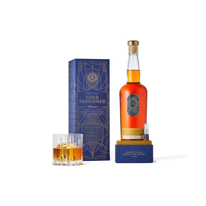 Gold Fashioned bottle