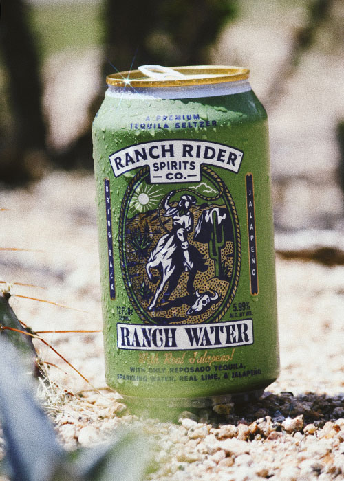 Ranch Rider spicy jalapeno can